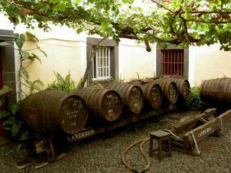Madeira Wijn Vaten